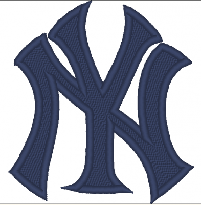 PATCH RICAMATA TERMOADESIVA LOGO NEW YORK YANKEES